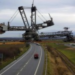 The TAKRAF RB293 is a giant bucket-wheel excavator used in coal mining. (Click to Enlarge)