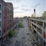 Packard Motors Plant in Detroit. (Yves Marchand and Romain Meffre)